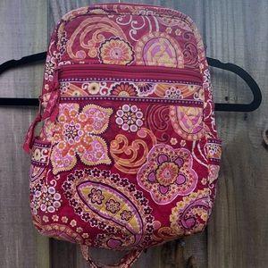 Vera Bradley Raspberry Fizz Pink Backpack Bag